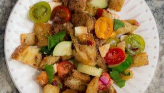 Panzanella: Traditional Italian Bread Salad Recipe