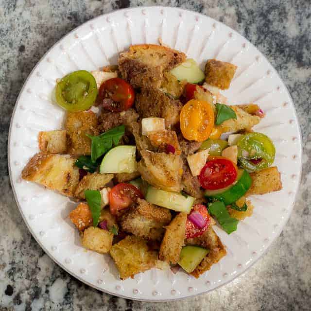 Panzanella Traditional Italian Bread Salad Recipe That Susan Williams