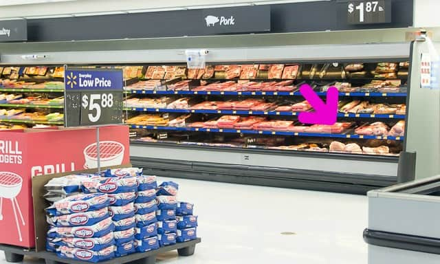 Where I find Smithfield Extra Tender Ribs, at my local Walmart.