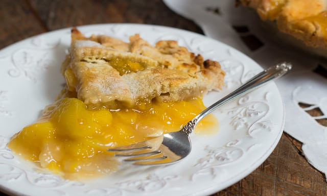 The Recipe for How to Make Fabulous Fresh Peach Pie: easy, and a classic summer dessert.