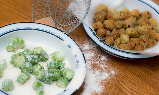 How to Make Fried Okra Recipe that's as addictive as popcorn.