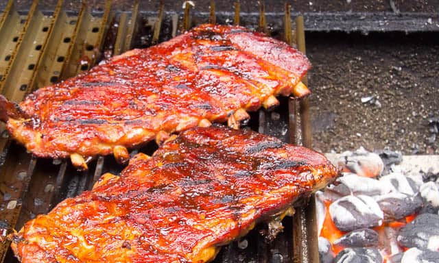 This recipe for Grilled Ribs with Bodacious Balsamic BBQ Sauce is easy and bodaciously delicious!