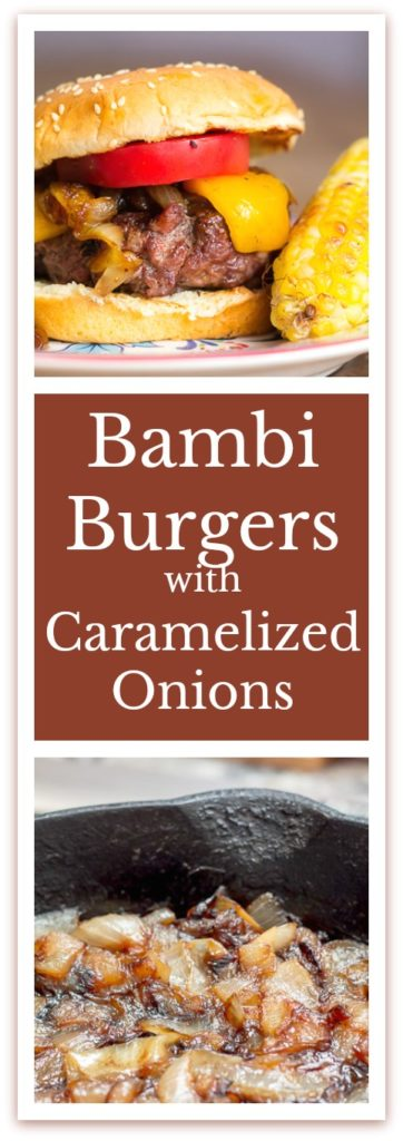 My Grilled Bambi Burgers are the best burger you'll ever have, whether you use venison, ground beef, or elk.