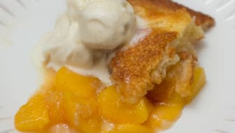 Easier Than Pie Homemade Peach Cobbler