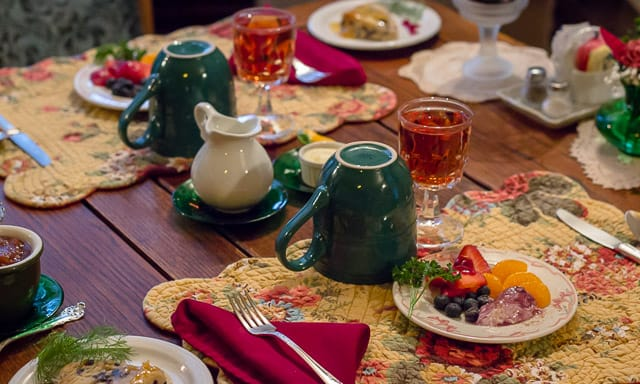 Table Setting at the Highlawn Inn Four Reasons To Visit Berkeley Springs