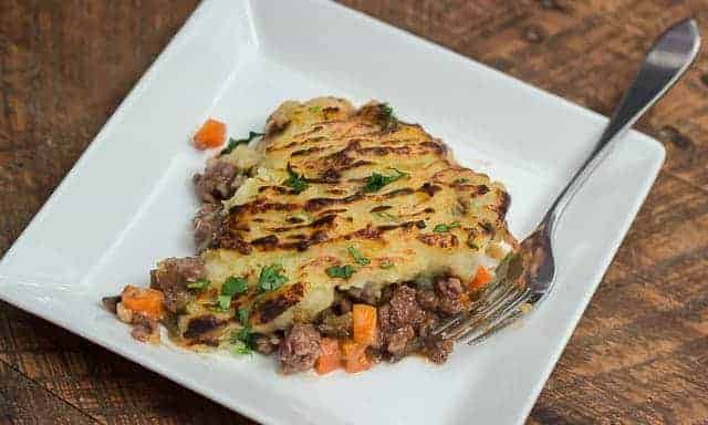 Venison Shepherd's Pie: delicious, easy, and made in a cast iron skillet.