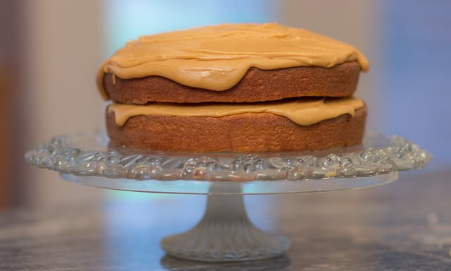Caramel Cake: Heaven on a Plate #dessert #cake #southerndessert #caramel
