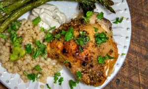 Dukkah is an Egyptian spice and nut blend, but what it does to the flavor of your weeknight chicken will astound you! This recipe for Chicken might just become your brand new family favorite!