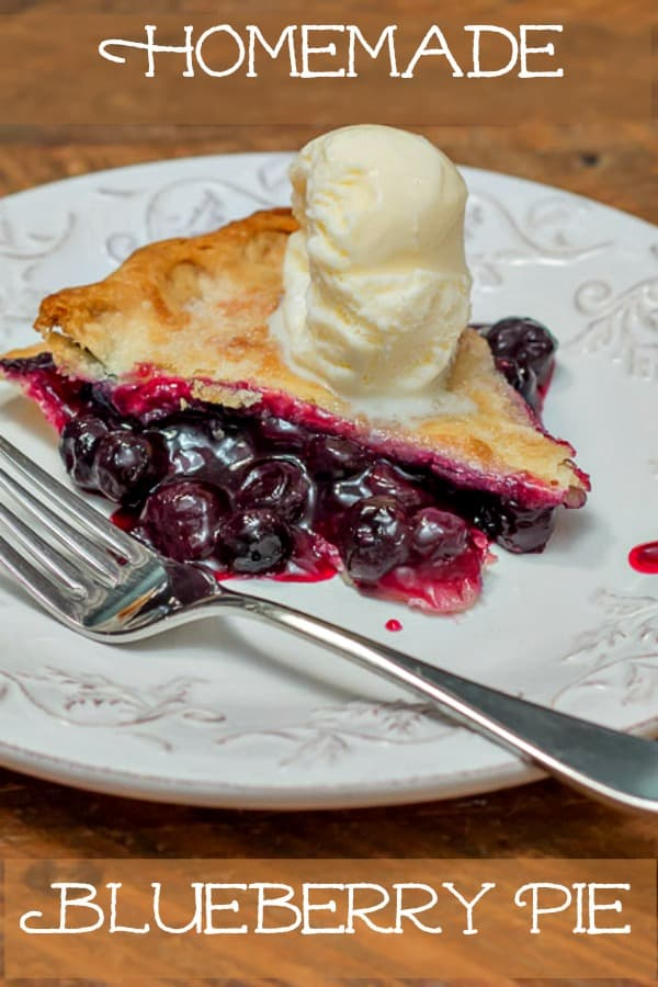 How To Make Homemade Blueberry Pie Recipe #summer #summerrecipe #blueberrypie #blueberries #blueberrypierecipe #easyrecipe
