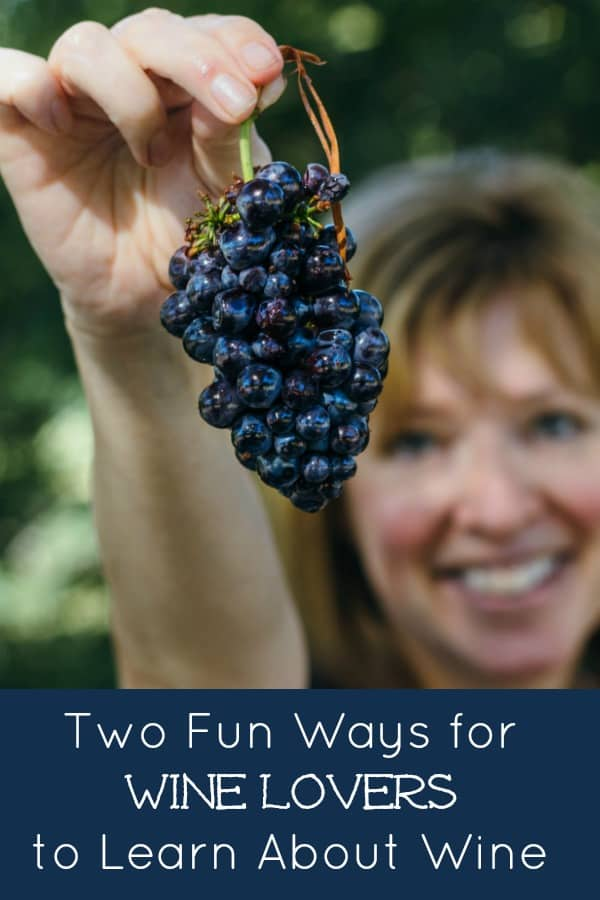 Two Fun Ways to Learn About Wine #godfosakengrapes #wine #winetasting #winedinner #winelovers