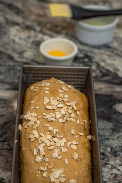 Part 4 of my 4 Part Tutorial on How to Make Homemade Whole Wheat Bread: the Recipe. #Wholewheatbread #grainmill #Boschmixer #recipe