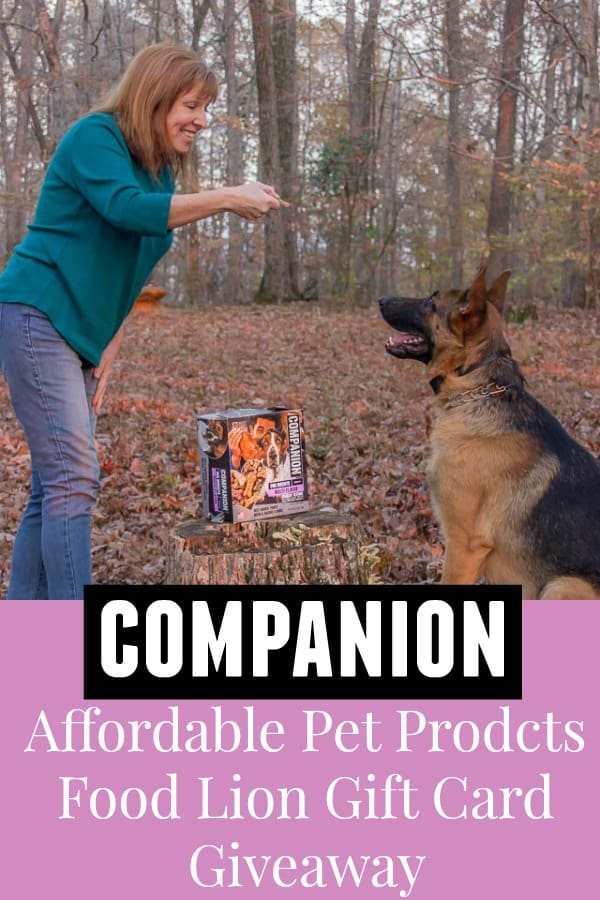 Companion High Quality Affordable Pet Brand at Food Lion #affordable #dog #dogtreats #highquality