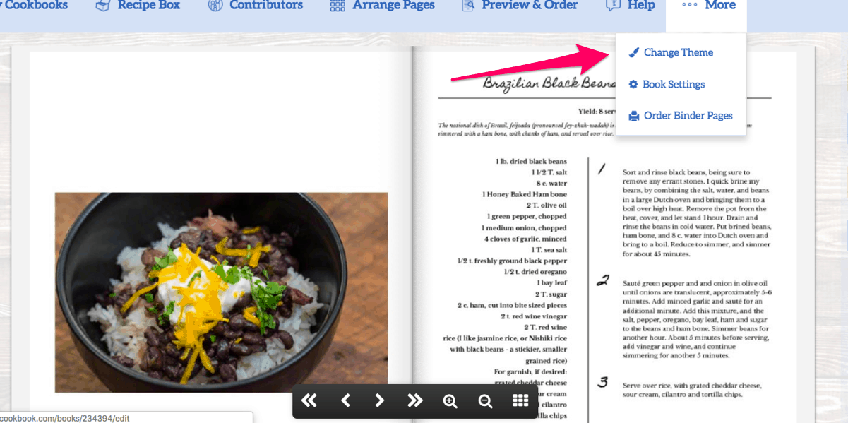 Create A Cookbook, your OWN cookbook, with CreateMyCookbook