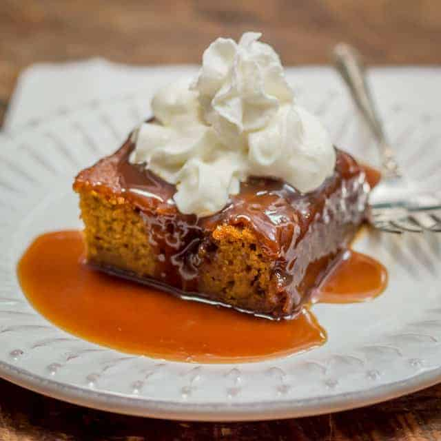 Sticky Toffee Pumpkin Pudding