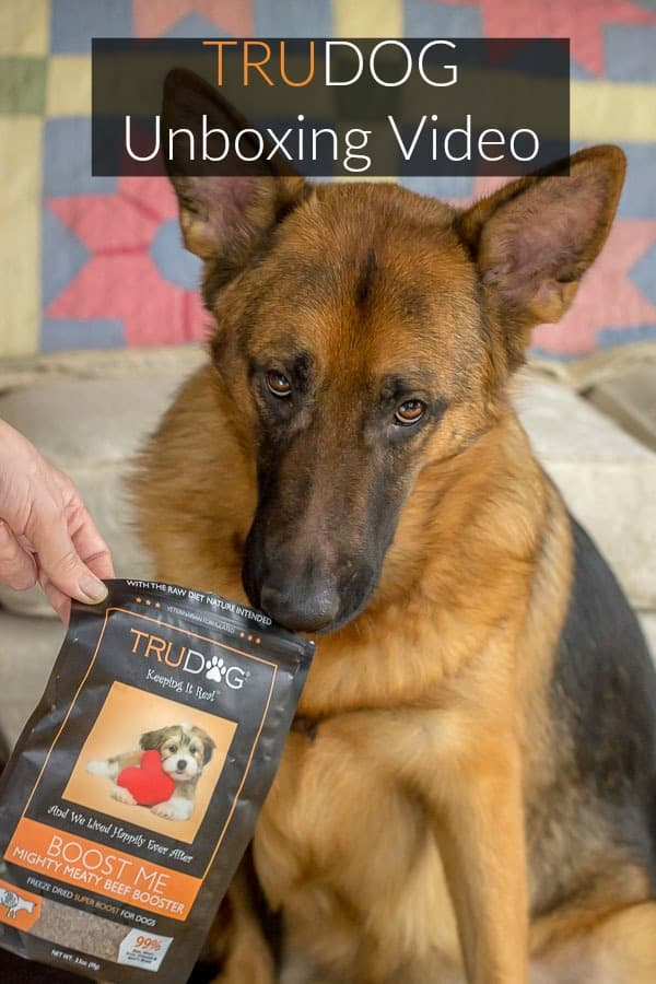 TruDog #ad A dog food review and unboxing video #dogfood #review #dogproducts