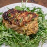 Five Ingredient Meyer Lemon Grilled Chicken is a delicious and easy weeknight meal. #chicken #grilledchicken #easy #weeknightmeal