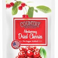 No Sugar Added Dried Tart Montmorency Cherries (1 lb.) by Country Spoon