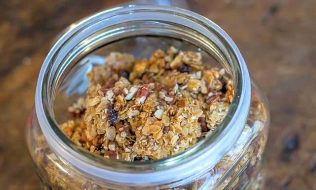 Homemade Granola is the best because you can put all YOUR favorite stuff in it!