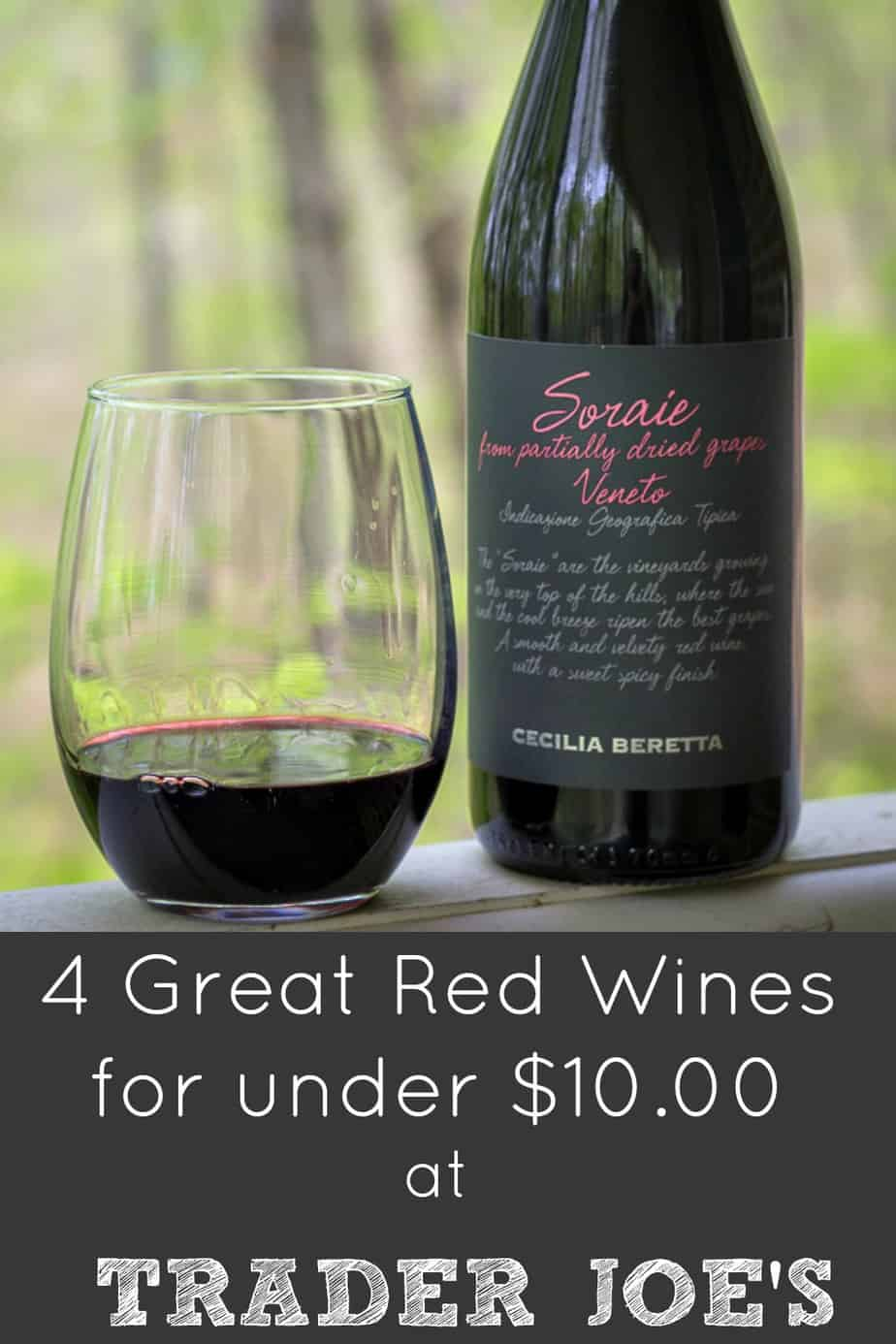 Four Good Affordable Red Wines at Trader Joe's