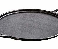 Pro-Logic Cast Iron Pizza Pan, 14-inch