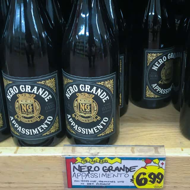 Nero Grande, an Italian Red Wine available at Trader Joe's
