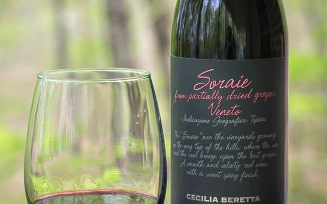 Soraie wine from Trader Joe's
