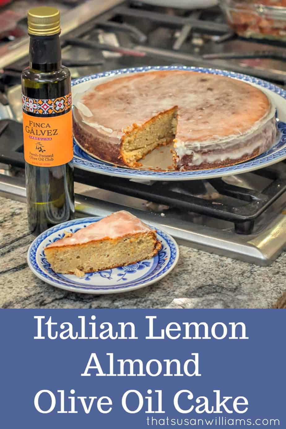 Italian Lemon Almond Olive Oil Cake is a simply delightful dessert, filled with complex flavors and a moist texture.