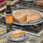 Sliced Lemon Almond Olive Oil Cake