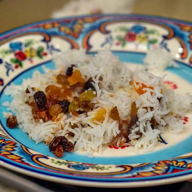 Jeweled Rice (Tahdig) Iranian Recipe