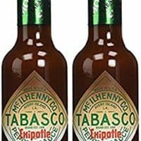 Tabasco Chipotle Smoked Red Jalapeno Pepper Sauce, 5oz (2 Pack)