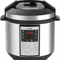 COSORI CP016-PC Electric Pressure Cooker 6 Qt 8-in-1 Instant Stainless Steel Pot 16 Program, Steamer, Yogurt Maker,   2-Year Warranty, 6 Quart