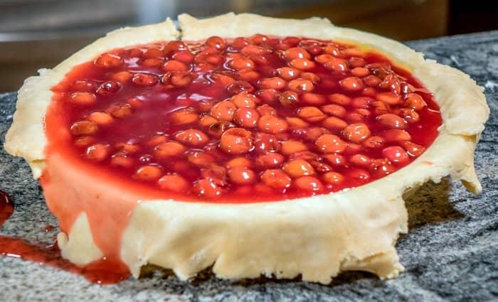 Sour Cherry Pie filling
