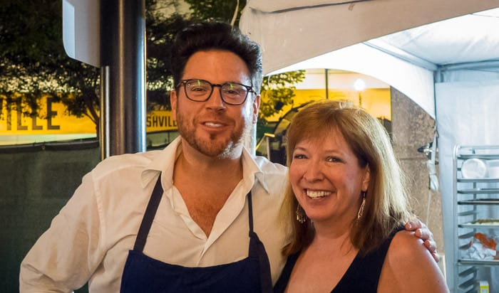 Scott Conant and Some Girl in Nashville