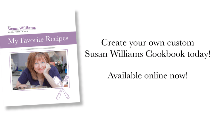 *That* Susan Williams has written a cookbook.
