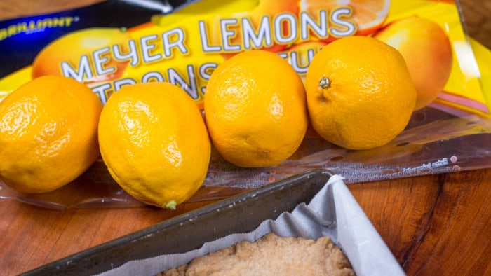 Big bag of Meyer lemons from Costco