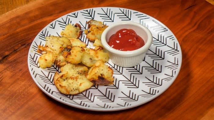 Air Fryer Crispy Smashed Potatoes: Faux Frites