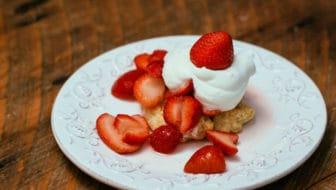 Strawberry Pinwheel Shortcakes