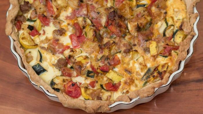 Savory Summer Squash Pie