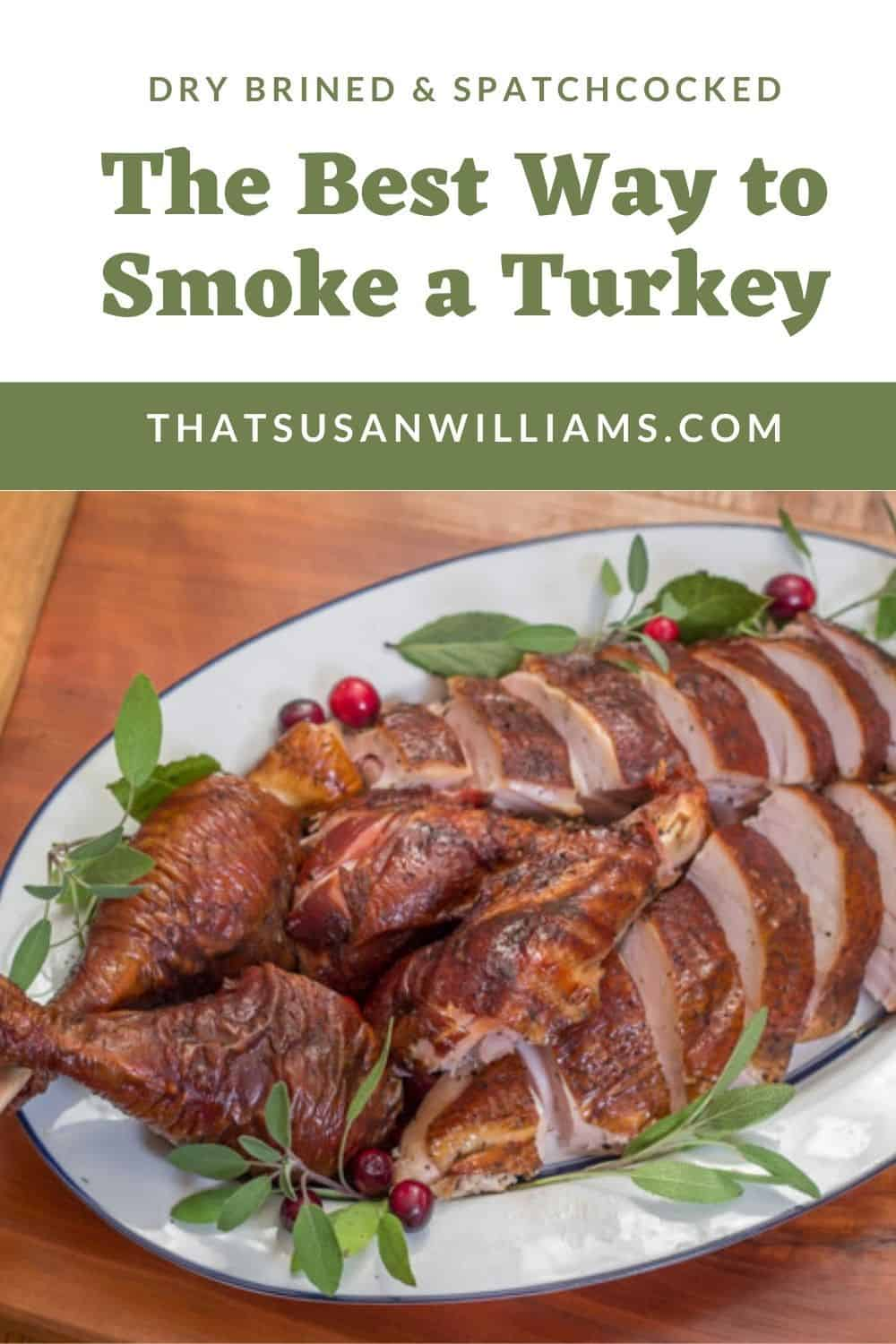 The Best Way to Smoke a Turkey: a platter full of proof.