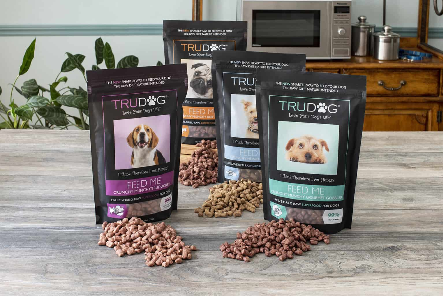Flavors of TruDog Feed Me